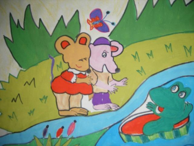 幼儿卡通大风图片