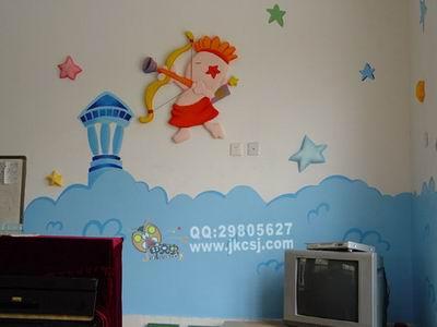 幼儿园墙饰