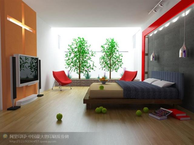 很漂亮的室内设计效果图