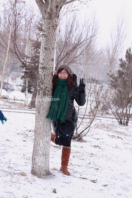2012年春天里的第一场雪
