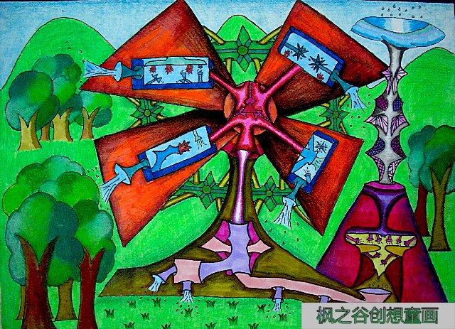 科学与幻想,科学幻想画,科学幻想绘画作品_点力图库图片