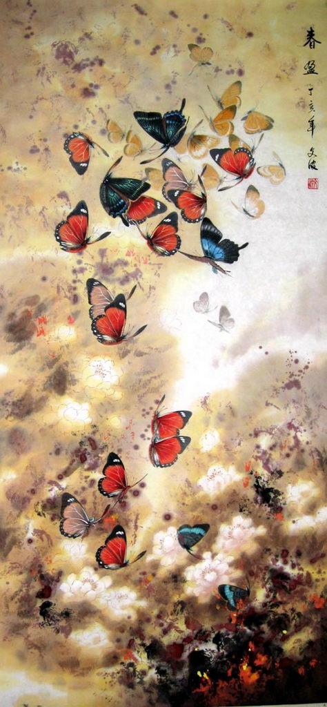 工笔画蝴蝶图片步骤图片 工笔画荷花步骤图片,工笔画蝴蝶图