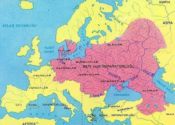 控制了东欧和西欧大部分地区