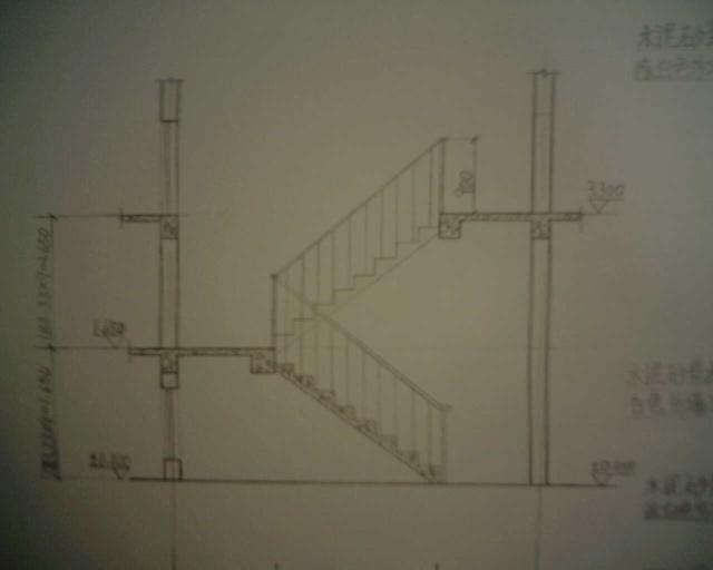 双跑楼梯平面图_土巴兔装修效果图