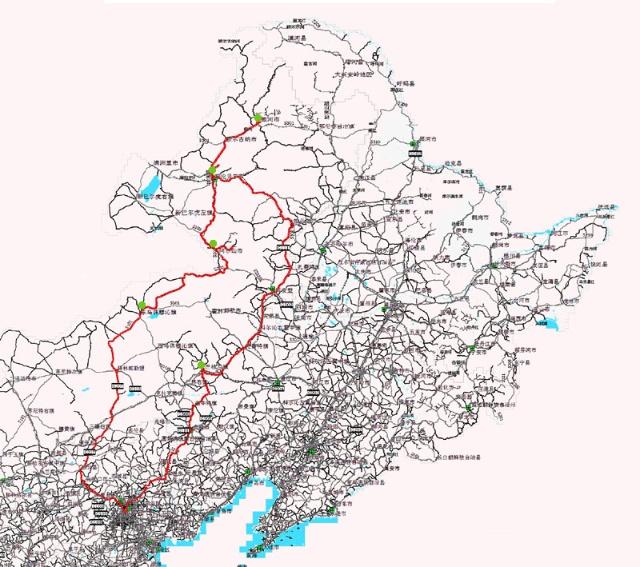 河北张家口和锡盟太仆寺旗地图