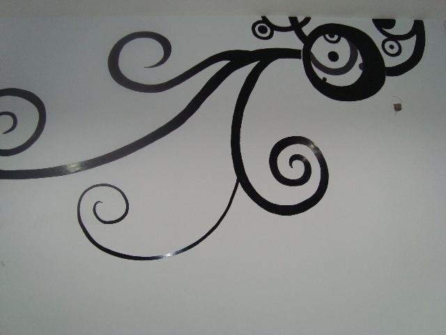 为设计公司画的手绘墙-石头森林-搜狐博客