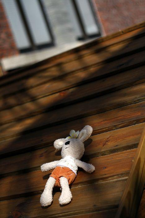 晒晕了的时候,口以滚下屋顶往草地上四仰八叉一躺&#65292