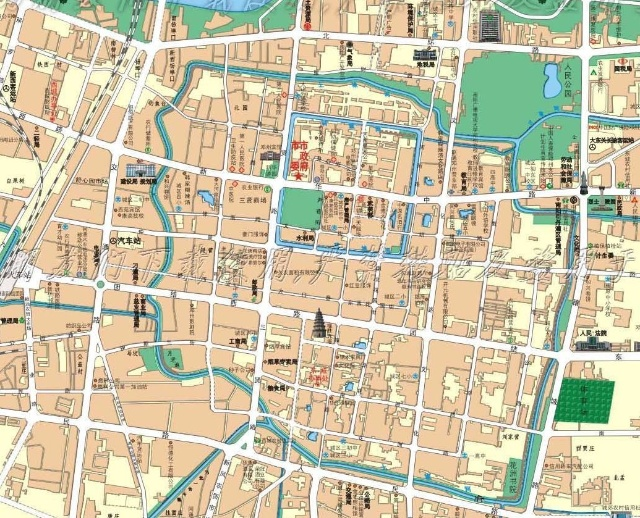 古邓州和新邓州的地图对比