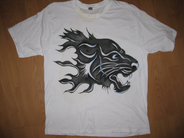 阿狐的手绘t恤