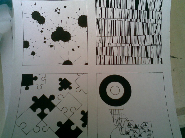 点的构成设计图片 大师平面构成图片