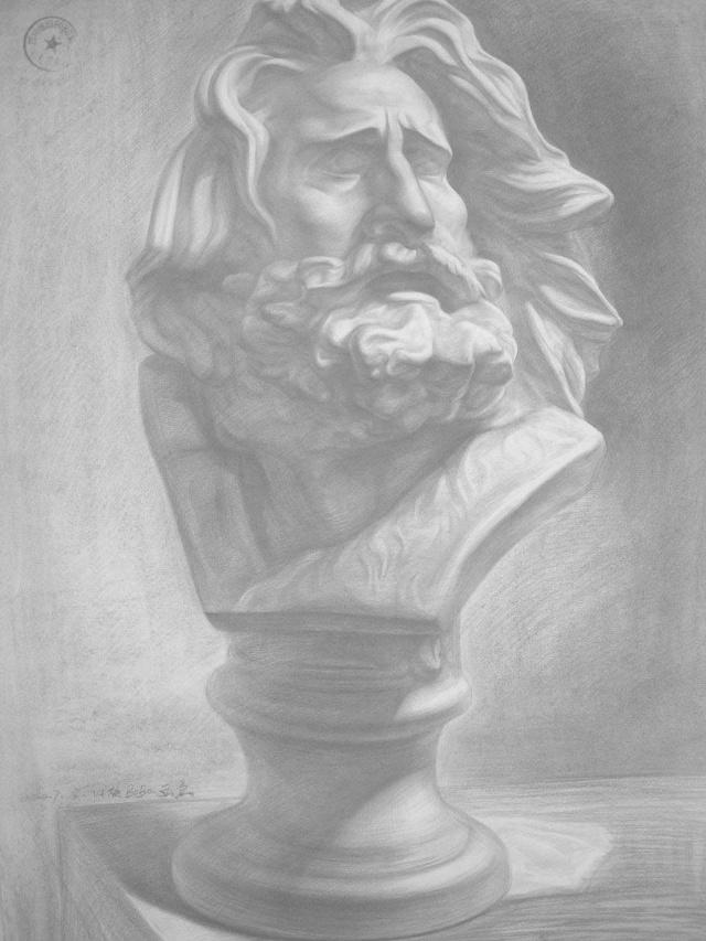 如何速写人物画像的嘴巴结构