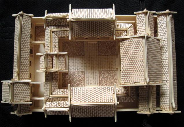 农村小四合院设计图 南方展示