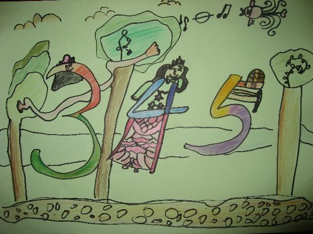 小顽子的部分绘画作品——一年级上半学期