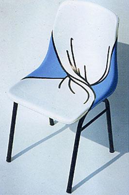 椅子图形创意手绘