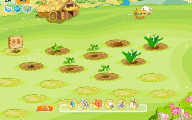 最近在玩开心网,里面有开心农场,阳光牧场,开心鱼塘,荣光医院