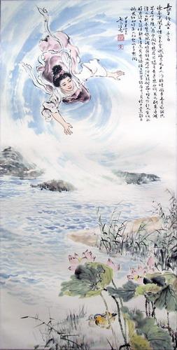 原创国画唐诗三百首 5