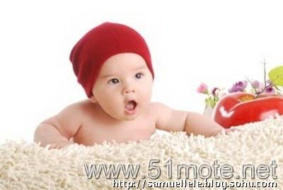 可爱混血婴儿模特乐乐在唯一儿童模特网上的资料介绍