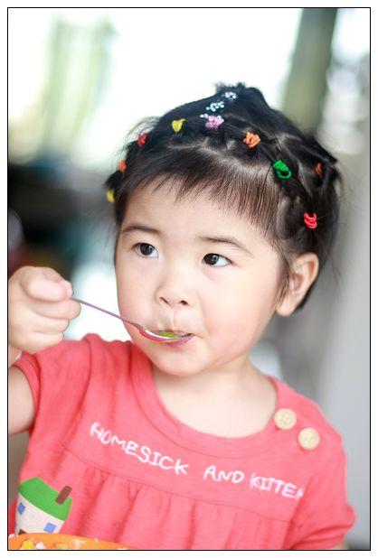 五岁宝宝的可爱发型