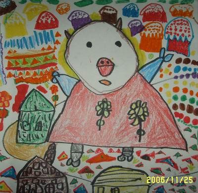 国外幼儿园幼儿图画