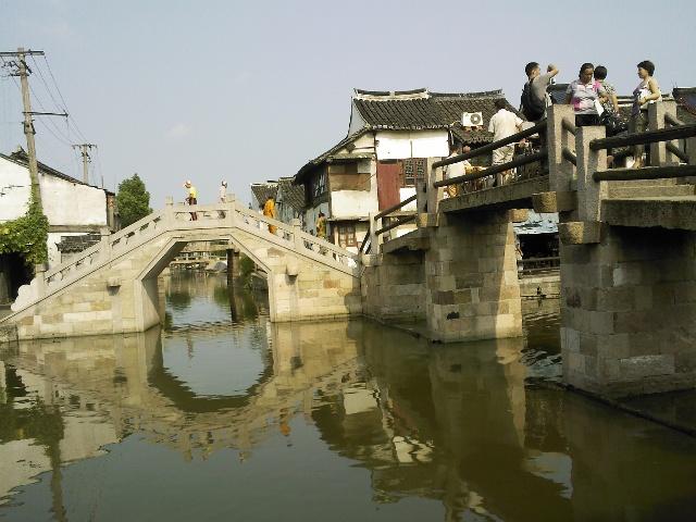 江南风景墙面图