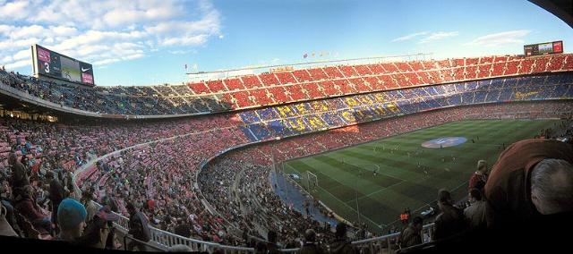 巴塞罗那:诺坎普体育场