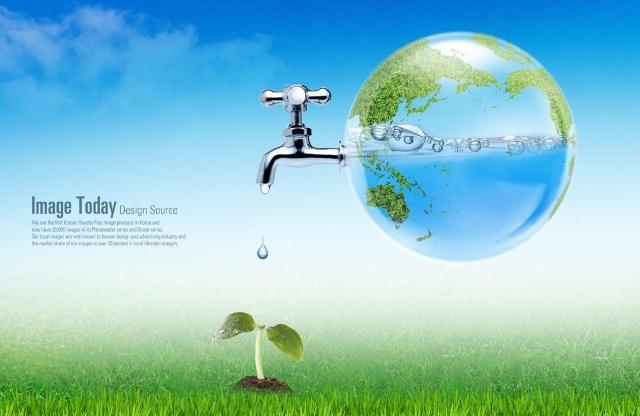"""""""保护水资源""""ps(photoshop)公益海报设计大赛(海报欣赏)"""