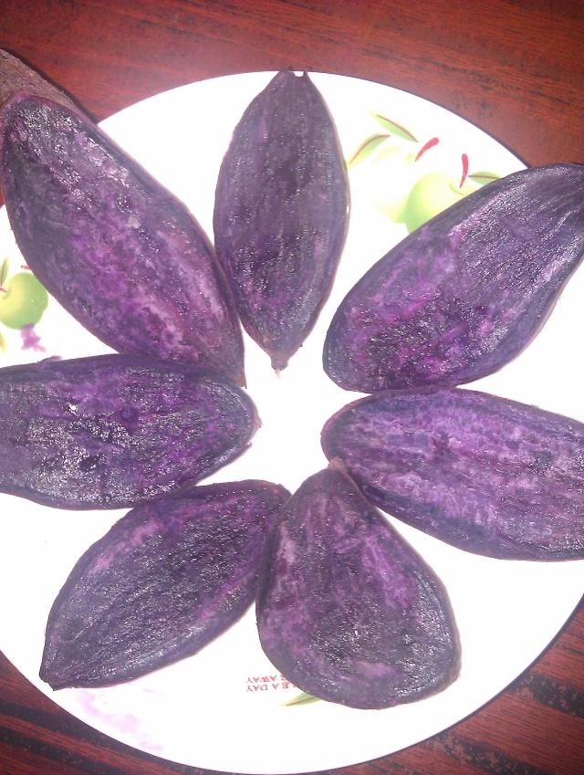 保肝作用   动物实验表明含大量花色甙的紫薯饮料能显著抑制由