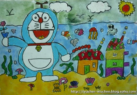 儿童画中级--水粉画花瓶_乐乐简笔画