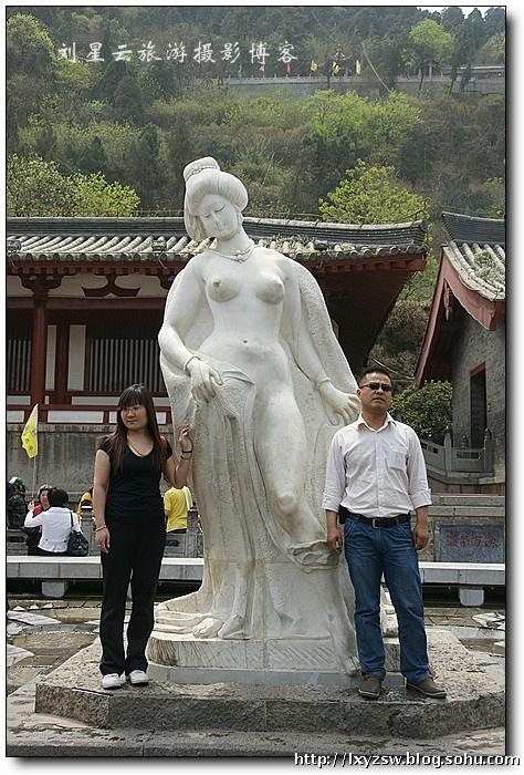 古都西安华清池唐代洗浴文化遗存特摄
