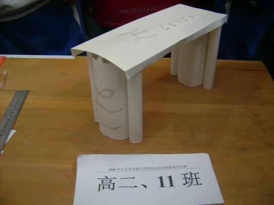 纸桥承重制作方法图片,纸桥,纸桥承重,纸桥承重制作方法