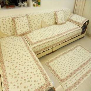 定做 田园 特价沙发垫包邮 坐垫厚 布艺 欧式 绗缝 滑 垫子飘窗垫