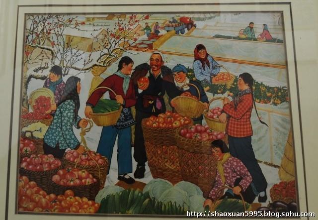 中国农民画乡看画展