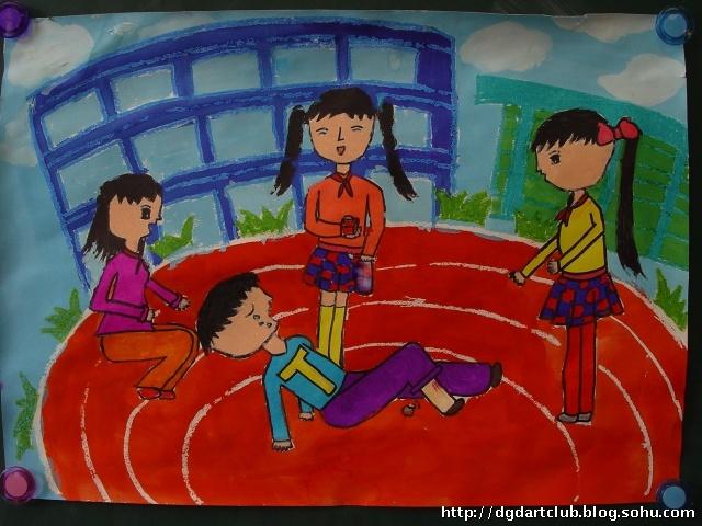 绘画摄影比赛作品欣赏 2007 2011 东高地二小学生美术社团