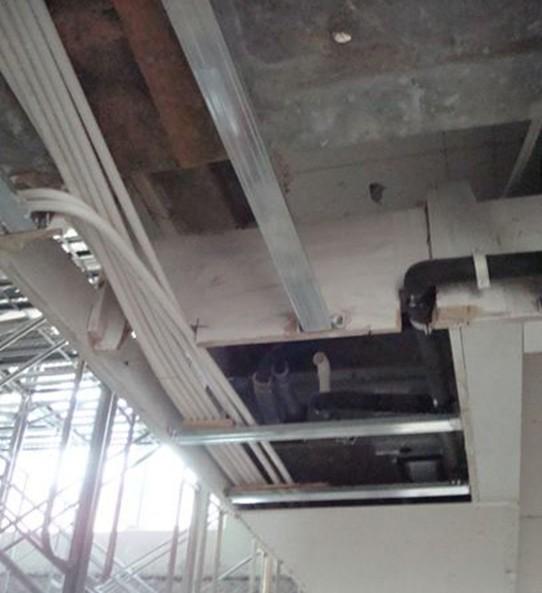 木工框架楼梯施工图