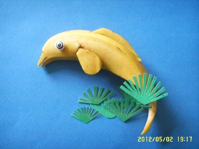 用水果做小动物图片大全