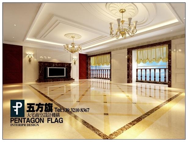 客厅地板砖拼花贴图 客厅地板砖拼花效果图