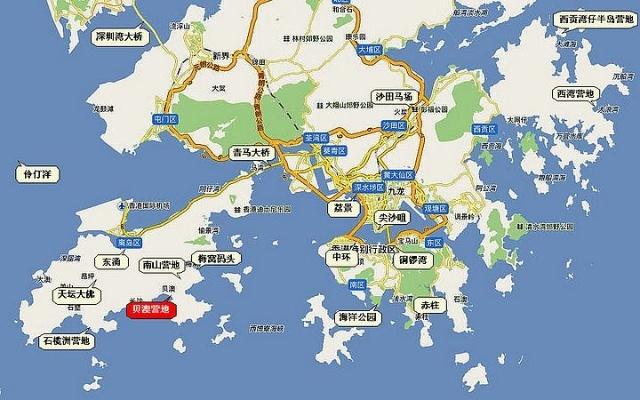 香港除了新界九龙半岛,还有290多个岛屿.